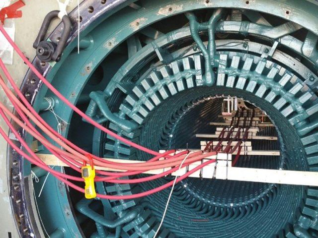 Generator Testing Photo Core Loop Test